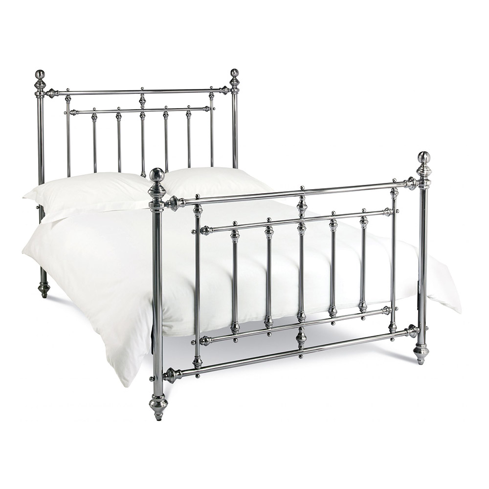 Imperial Bedstead Antique Nickel Belfast
