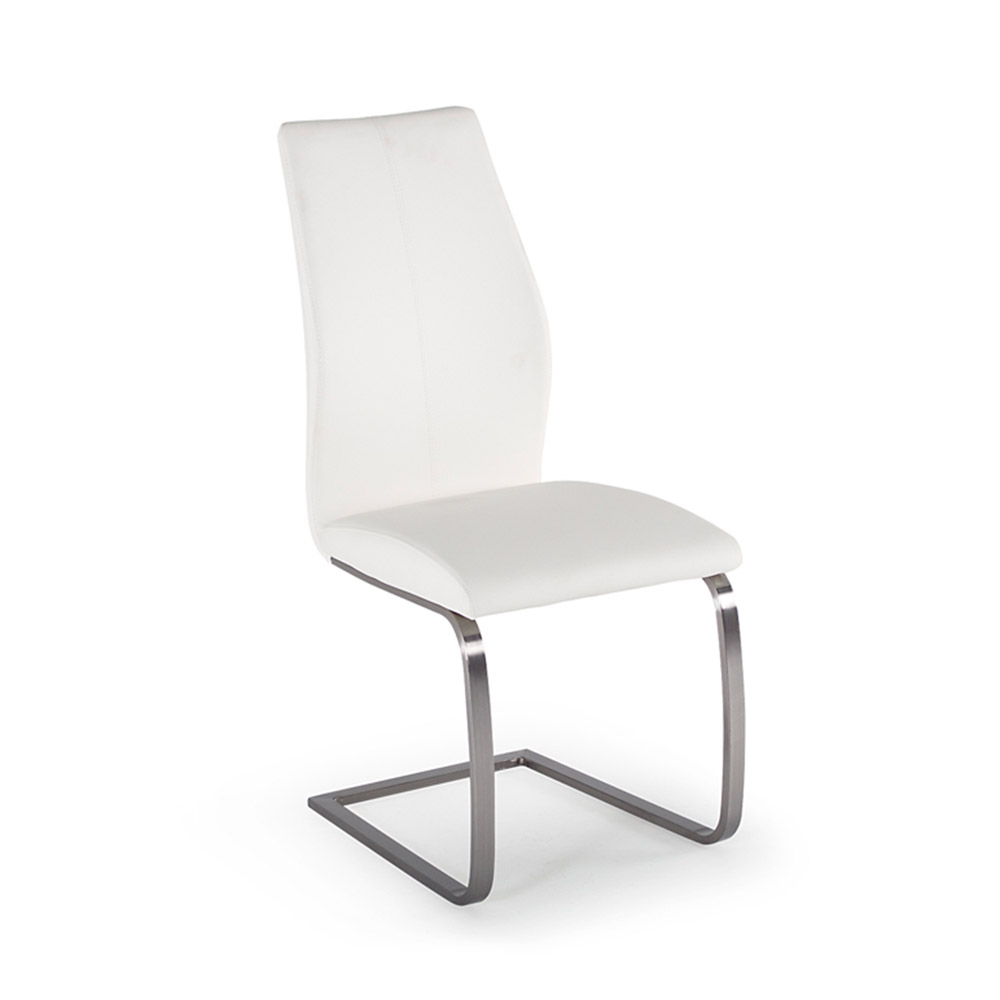 Irma Dining Chair White Belfast