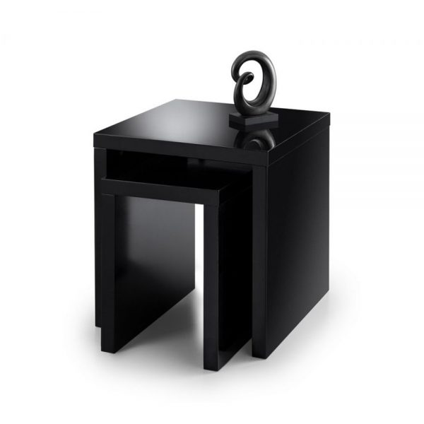 Metro Nest Tables Black Belfast