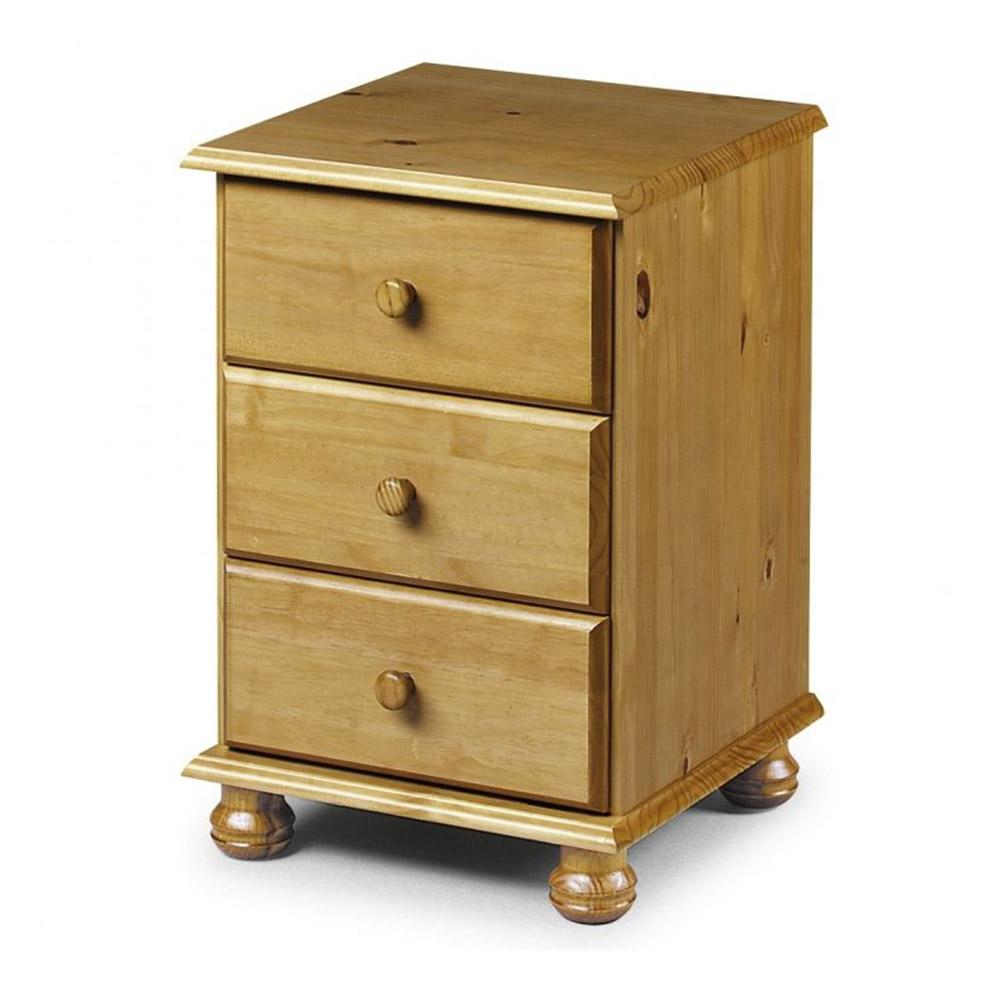 Pickwick 3drw Bedside Cabinet Belfast