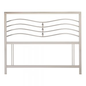 Revo Headboard Satin Nickel Belfast