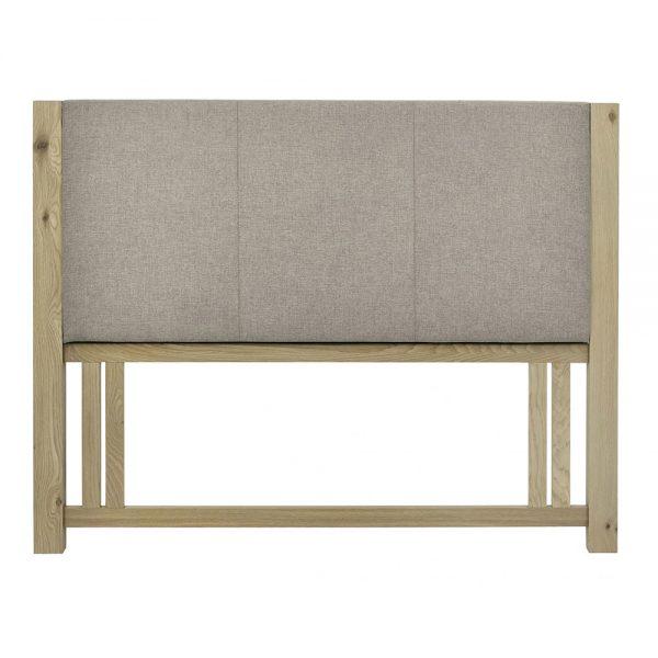 Turin Upholstered Headboard Pebble Belfast