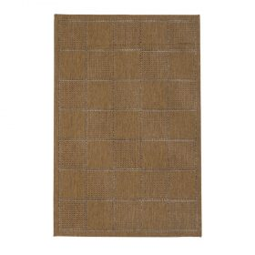 Check Flat Weave Natural Rugs Belfast