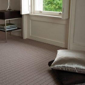 Open Spaces Wellington Stripe Marron Carpet Belfast