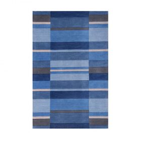 Jazz Blocks Dusky Blue Rugs Belfast