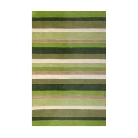 Jazz Stripes Moss Rugs Belfast