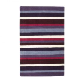 Jazz Stripes Purple Rugs Belfast