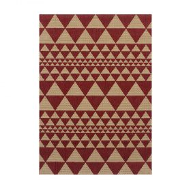 Moda Prism Red Rugs Belfast