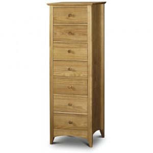 7 drawer narrow chest bedroom belfast ireland uk
