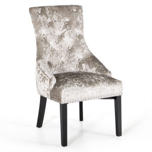 crushed velvet mink chair dining belfast uk ni ireland