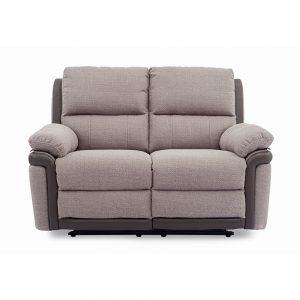 uk ireland belfast sofa fabric leather brown oatmeal beige sale