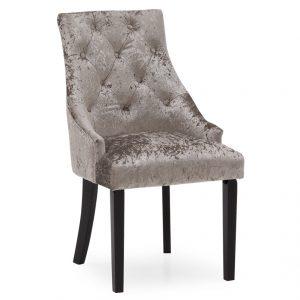 crushed velvet dining chair silver sale belfast furniture uk ni ireland
