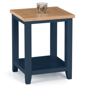 blue wood lamp table dining furniture sale belfast uk north ireland england