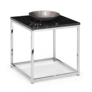 lamp table black marble gloss dining furniture uk belfast ni ireland