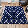 blue rug geometric white pattern blue caarpet floor shop sale belfast uk ni ireland
