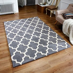 grey white geometric pattern rug modern belfast carpet floor shop sale furniture uk ni ireland england scotland