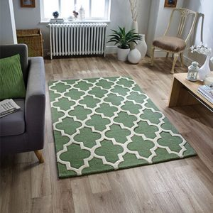 sage green geometric pattern white rug carpet floor uk belfast ni shop ireland sale