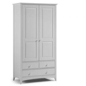 dove grey wardrobe 2 door belfast bedroom furniture ireland uk ni