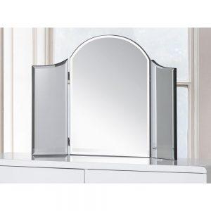 curve dressing table mirror white uk ni ireland belfast shop furniture dining bedroom sale home