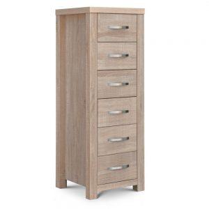 6 drawer tall chest shop home bedroom furniture belfast uk ni ireland