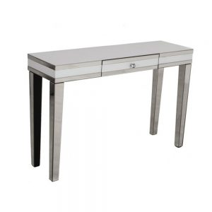 console table white mirror