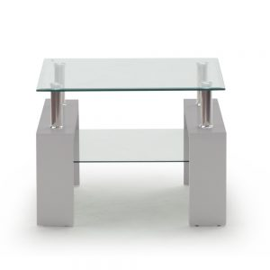 grey lamp table glass