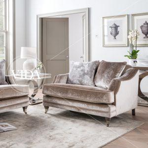 snuggle chair velvet