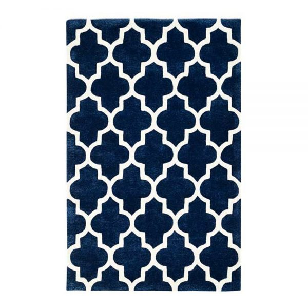 Arabesque Blue Rugs Belfast
