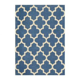 Arabesque Denim Blue Rugs Belfast