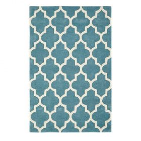 Arabesque Light Teal Rugs Belfast