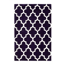 Arabesque Purple Rugs Belfast