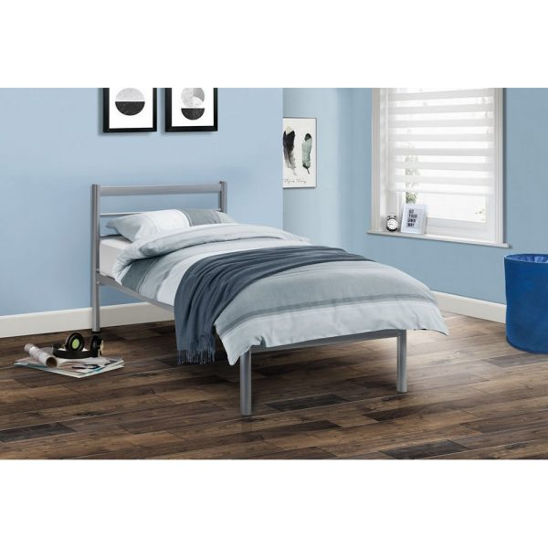 single metal bedstead bed