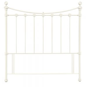 cream white metal headboard uk ireland ni belfast