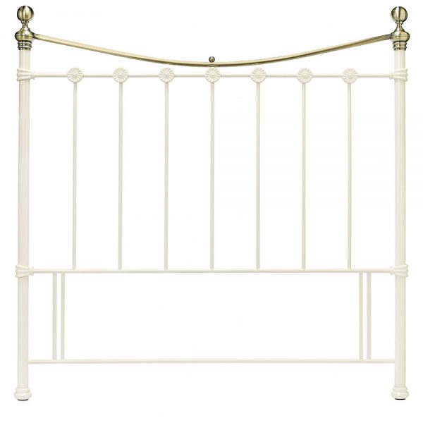 metal ivory brass headboard belfast uk ni ireland