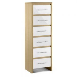 6 drawer narrow chest bedroom belfast uk ni