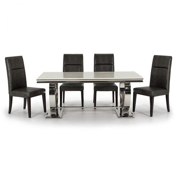 cream marble dining table uk ni ireland belfast