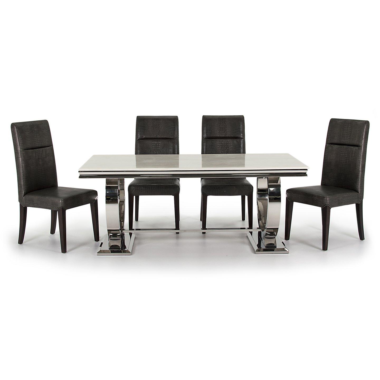 Ali dining table cream rite price furniture flooring