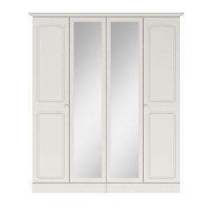 4 door wardrobe white belfast ni ireland uk