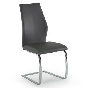 dining chair faux leather grey belfast uk ni ireland