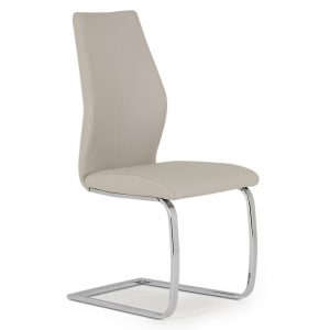faux leather dining chair taupe uk ni ireland belfast