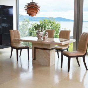 cream marble dining table belfast uk ni irelland