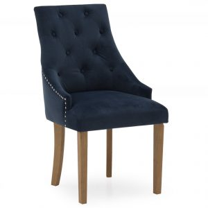 blue navy velvet chair belfast uk ni ireland