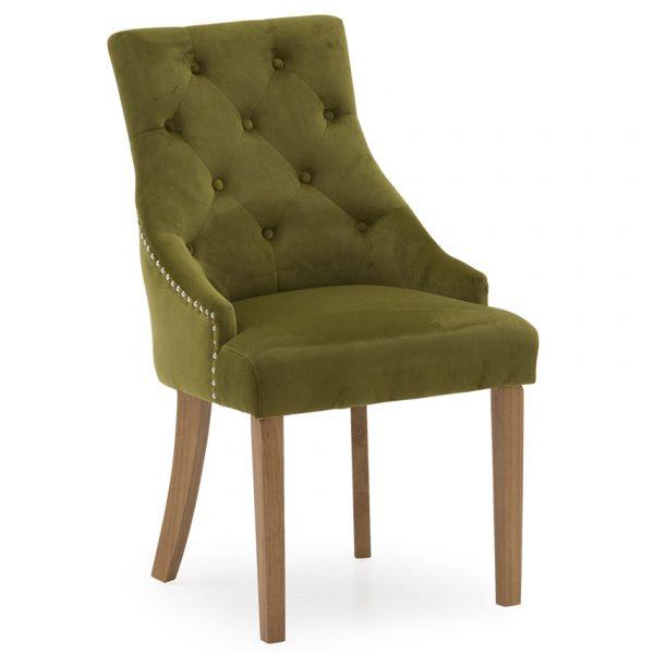 moss green velvet chair dining room belfast uk ni ireland