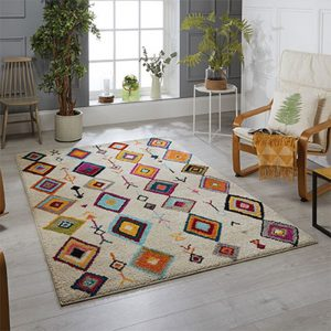 rug pattern white colour belfast shop furniture home uk england ireland ni sale