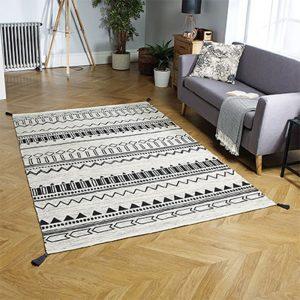 charcoal pattern wite rug floor carpet belfast uk ni ireland home shop