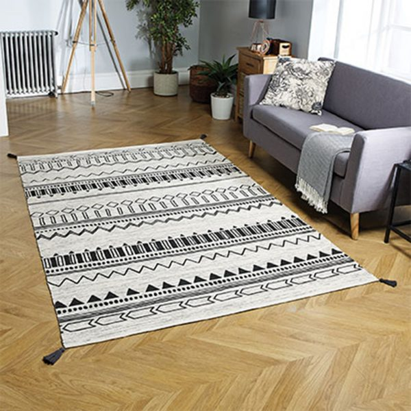 charcoal pattern wite rug floor carpet belfast uk ni ireland home shop