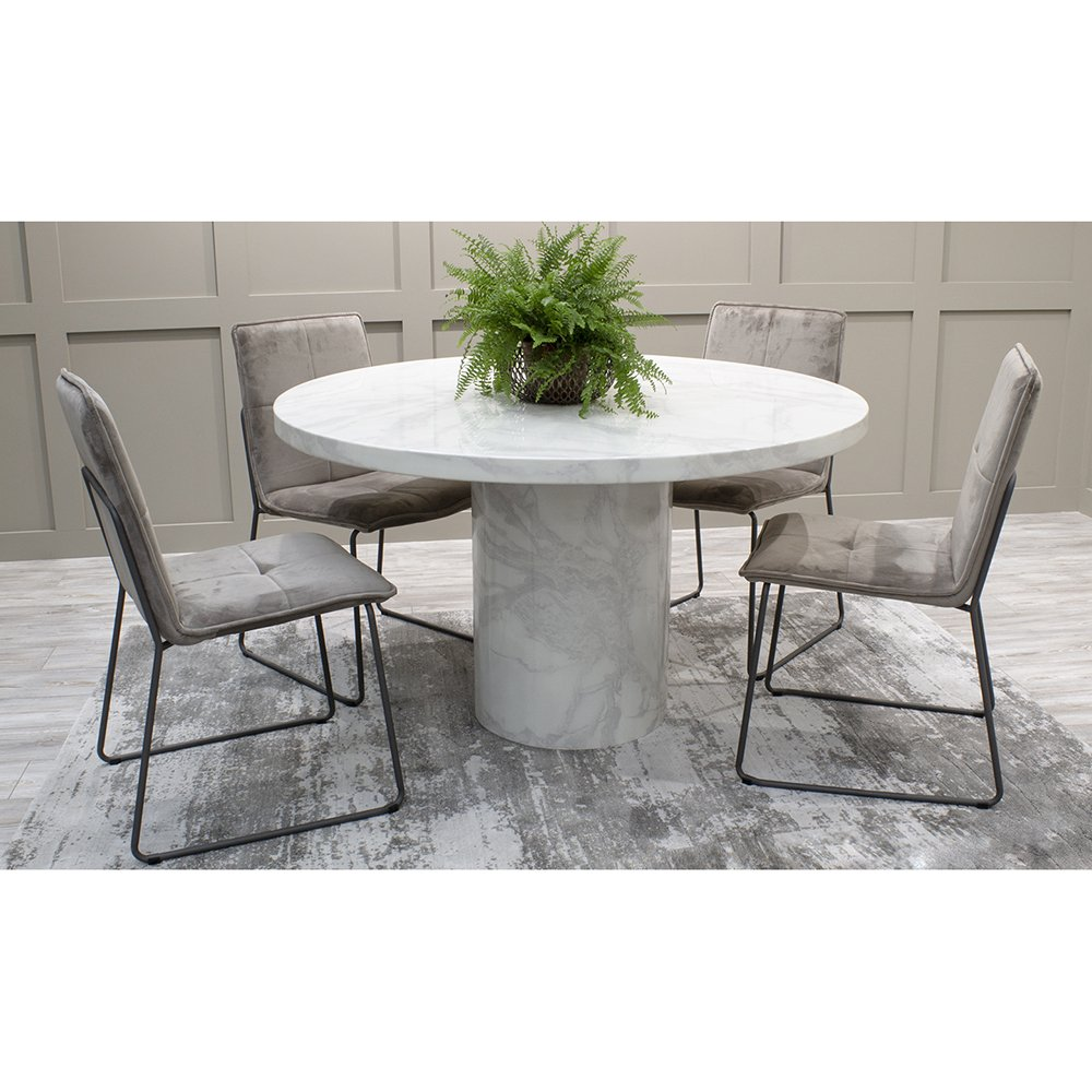 Round White Marble Dining Table Belfast Ni Ireland