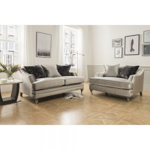 2 seater grey fabric sofa uk ni ireland