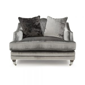 snuggle chair grey velvet silver belfast sofas sale uk ni ireland