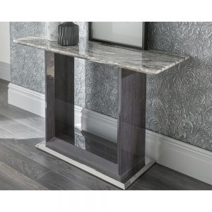 sideboard console table marble silver grey gloss uk ireland belfast